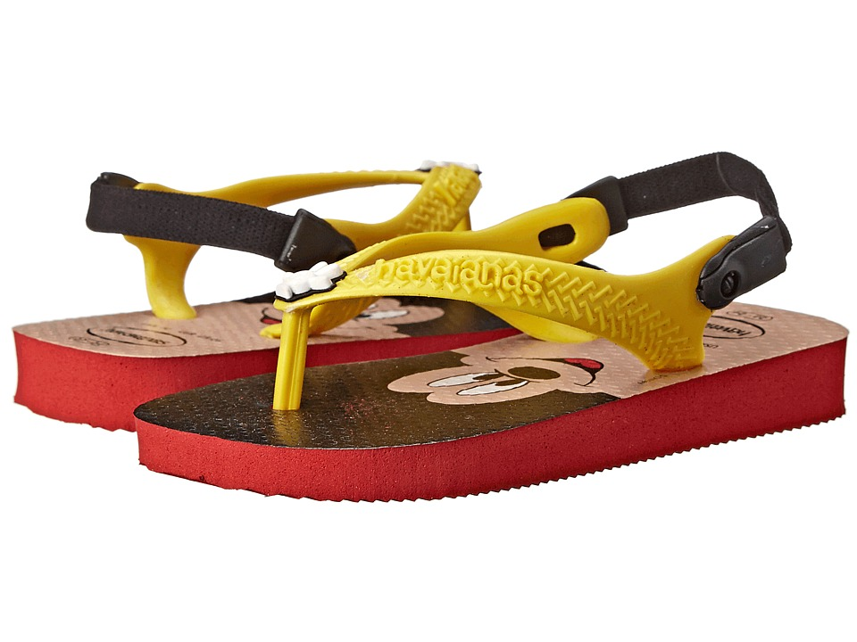 Havaianas Kids Disney Classics Toddler Red/Yellow Kids Shoes
