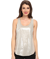 DKNYC - Sequin Glaze w/ Light Weight Satin Back Tank