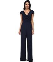 Badgley Mischka - Reversible Cowl Jumpsuit