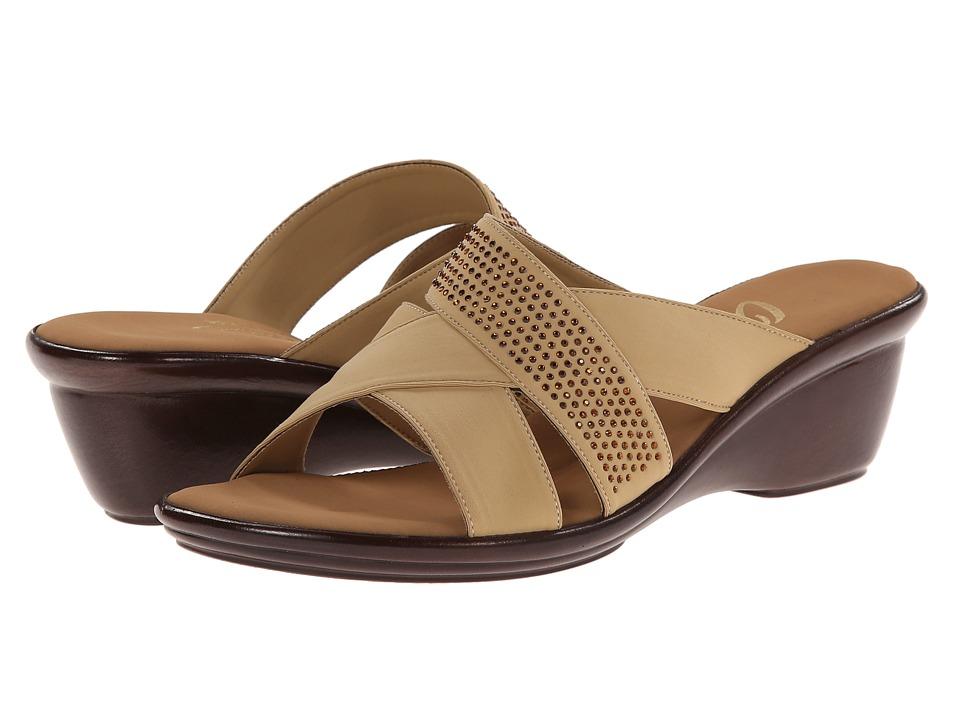 Onex Ariel Tan Womens Wedge Shoes