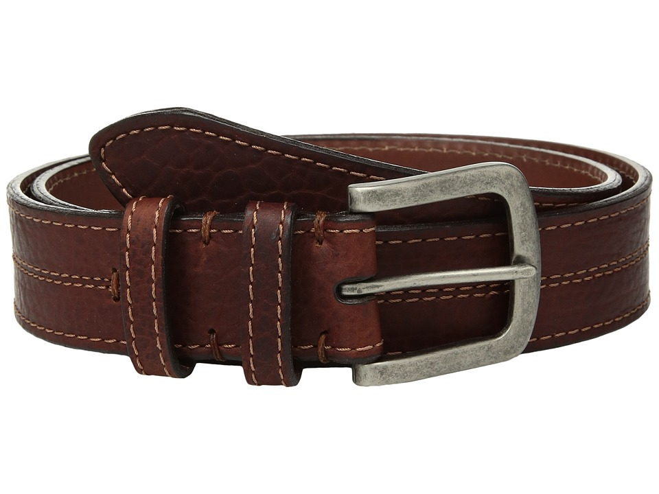Torino Leather Co. Waxed Shrunken Bison (Brown) Men