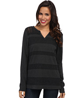Lucky Brand - Lace Stripe Thermal