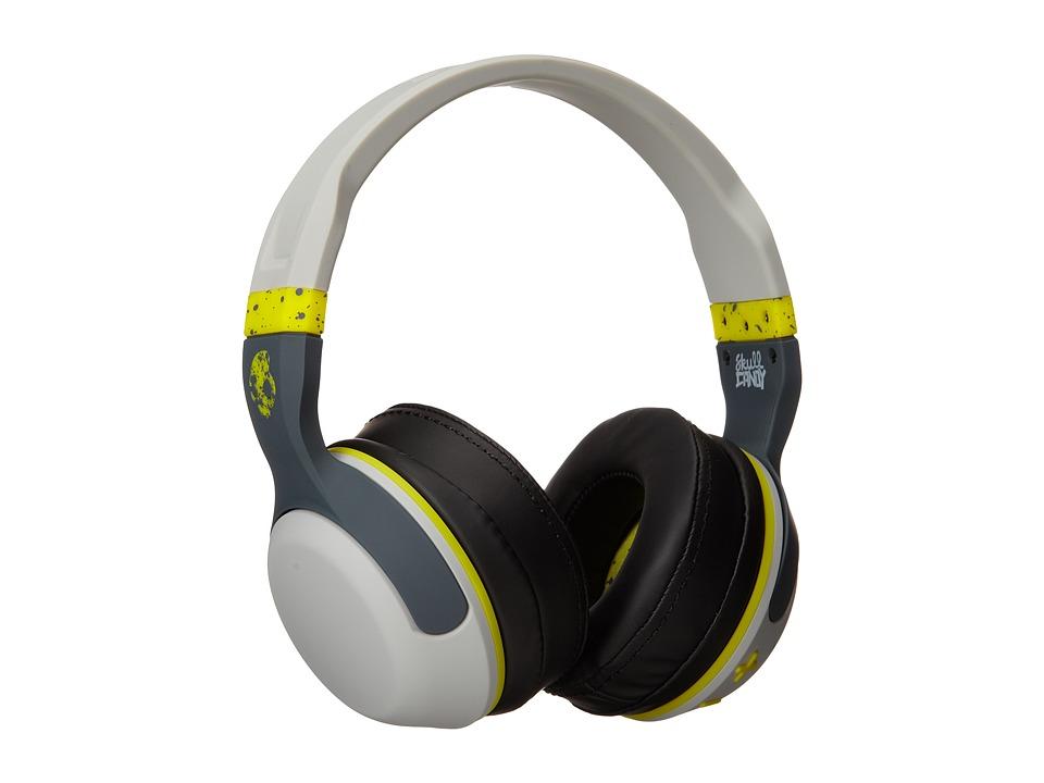 Skullcandy Hesh Grey/Hot Lime Headphones