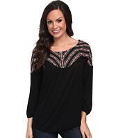Lucky Brand - Peasant Embroidered Top