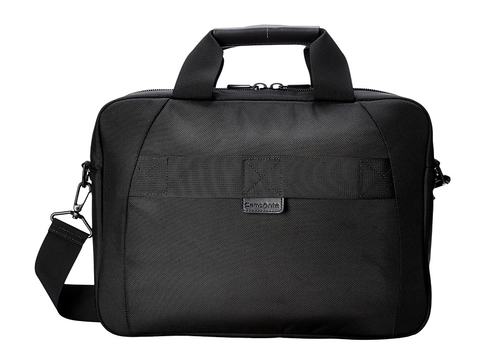 Samsonite PRO 4 DLX Slim Brief Black Briefcase Bags