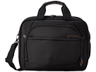 Samsonite PRO 4 DLX 2 Gusseted PFT/TSA Briefcase (Black)