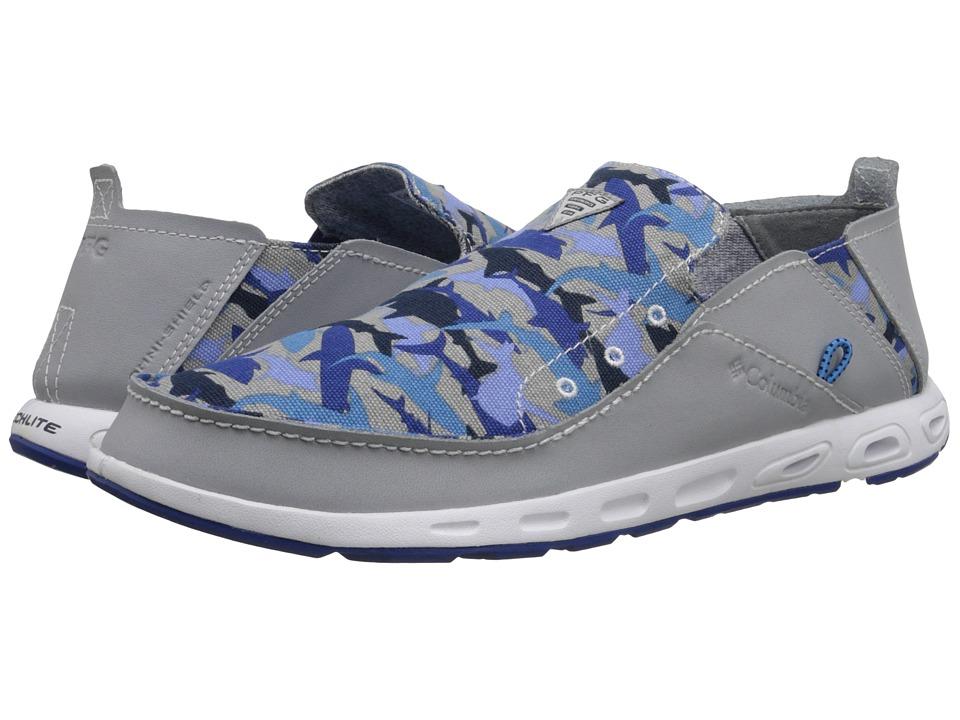 Columbia Bahama Vent PFG Print Columbia Grey/Azul Mens Shoes