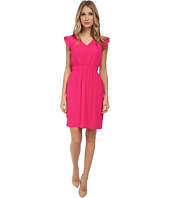 Kate Spade New York - Fluid Crepe Frill Dress