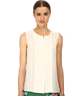 Kate Spade New York - Pleated Silk Top