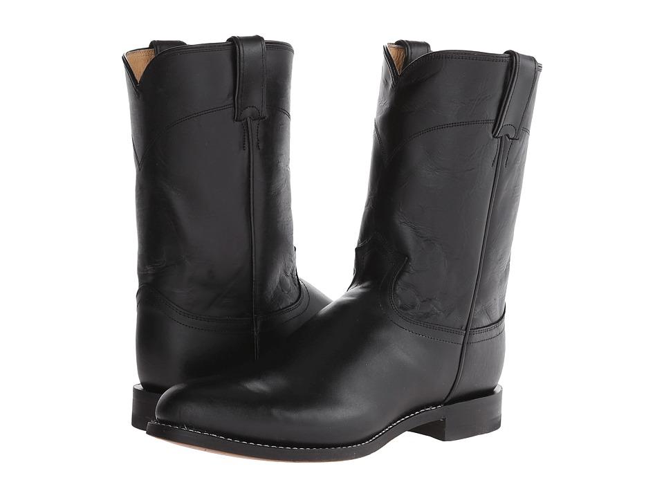 Justin - Jackson (Black Kipskin) Cowboy Boots