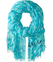 Kate Spade New York - Striped Fish Scarf