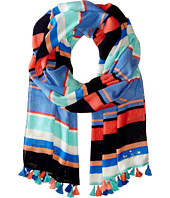 Kate Spade New York - Tropical Stripe Scarf