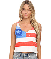 Converse - Bars and Stars Crop Tee