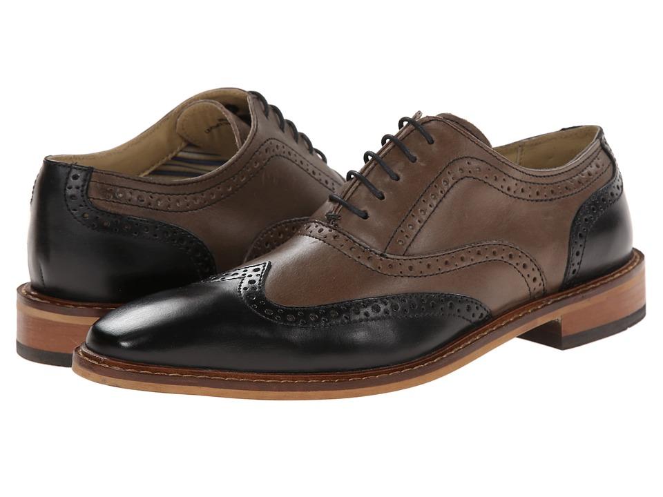 Giorgio Brutini - 250161-6 BlackTaupe Mens Shoes $99.00 AT vintagedancer.com