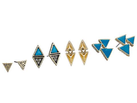House of Harlow 1960 Tessellation Stud Earring Set