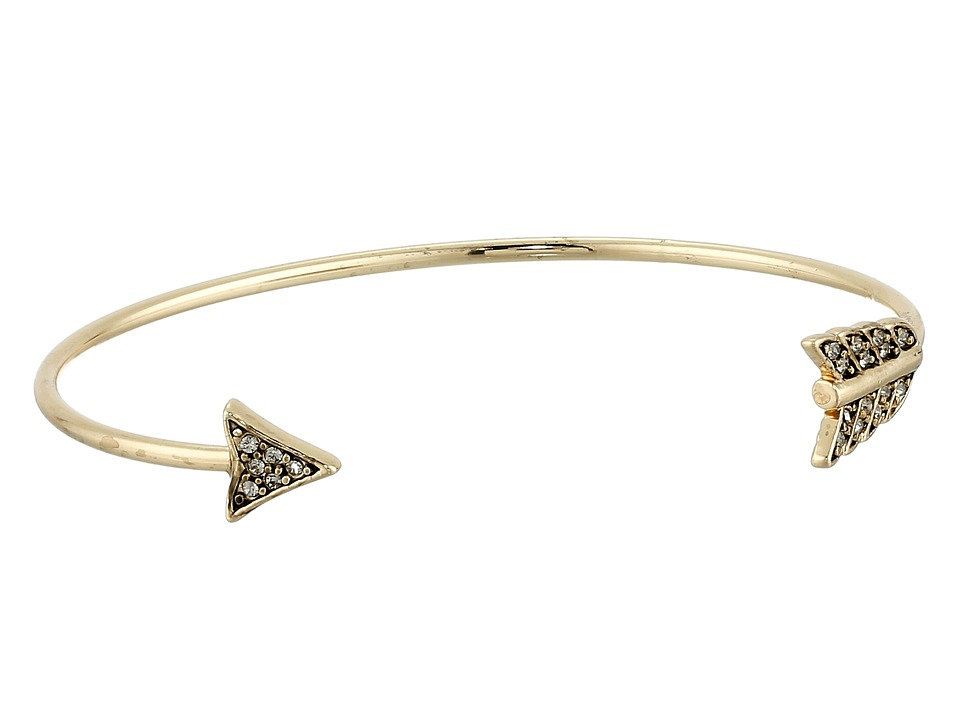 House of Harlow 1960 - Arrow Affair Cuff Bracelet (Gold) Bracelet