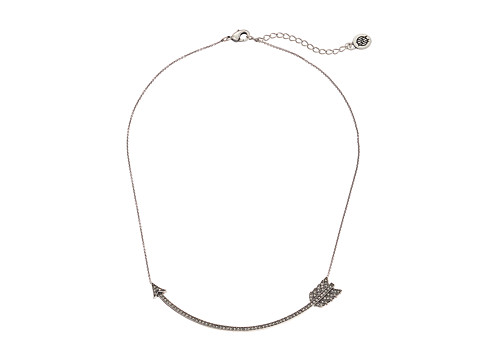 House of Harlow 1960 Arrow Affair Collar Necklace - Silver