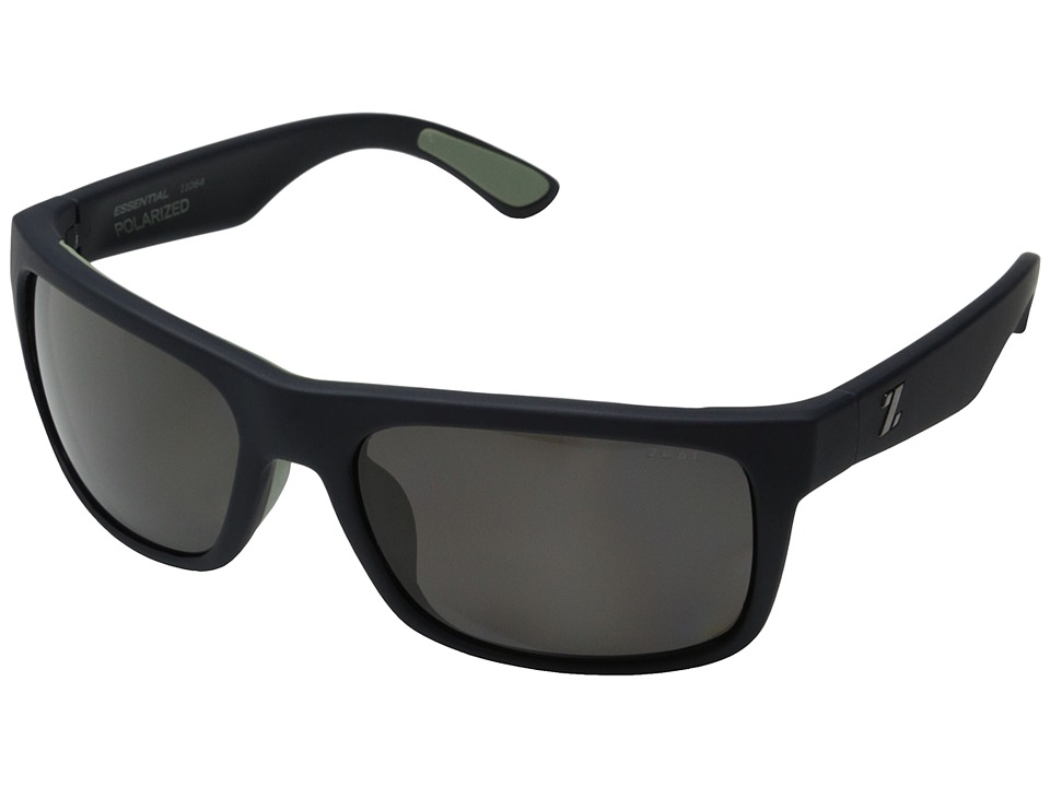 Zeal Optics Essential Navy Blue w/ Polarized Dark Grey Lens Polarized Fashion Sunglasses