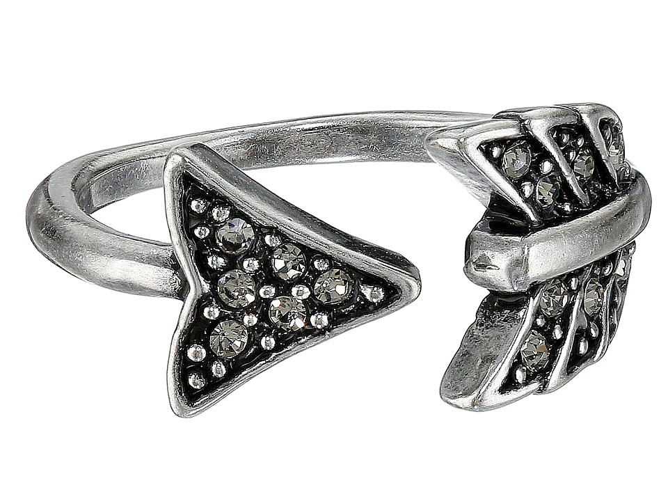 House of Harlow 1960 Arrow Affair Midi Ring Silver Ring