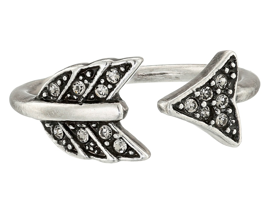 House of Harlow 1960 Arrow Affair Ring Silver Ring
