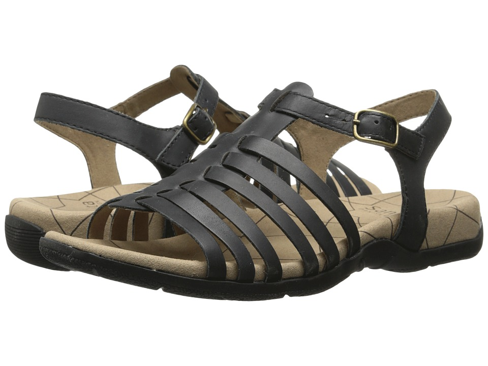 Sanita Cadence Black Womens Sandals