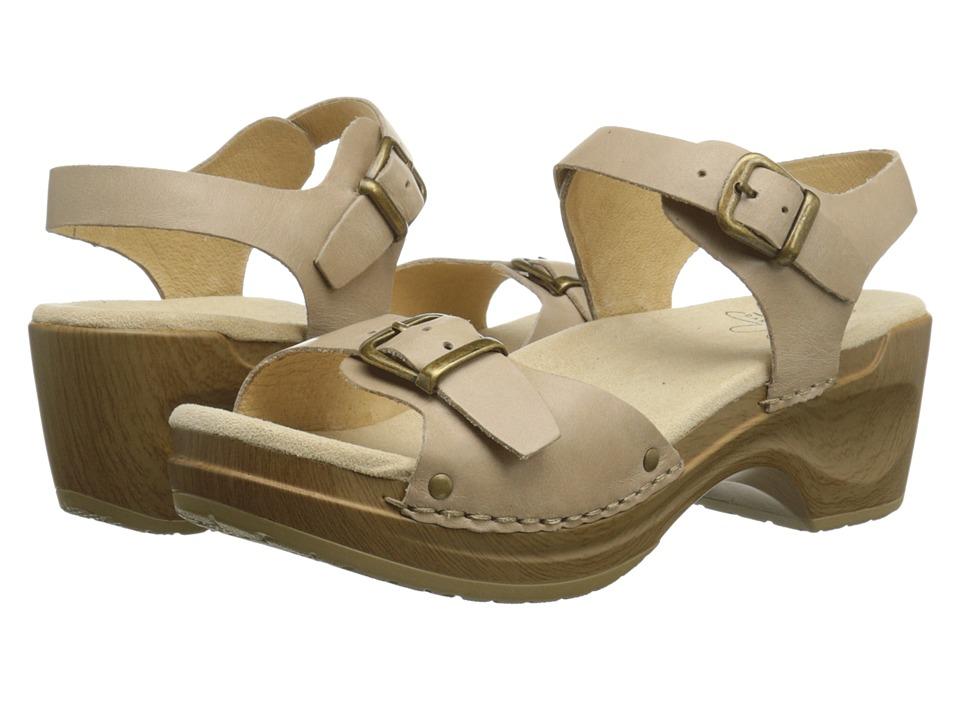 Sanita Davia Nude Womens Sandals