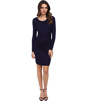 Three Dots - L/S Dress w/ Rouching