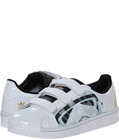 adidas Originals Kids - Superstar Stormtrooper CF (Little Kid)