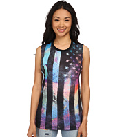 Converse - Sublimation Flag Open Muscle Tee