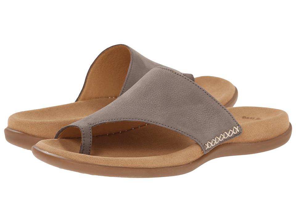 Gabor - Gabor 0.3700 (Fumo Nubuck Lavato) Women's Sandals