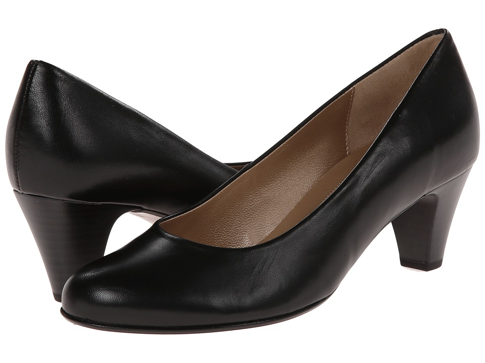 Gabor - Gabor 0.5200 (Schwarz Kid) Womens 1-2 inch heel Shoes