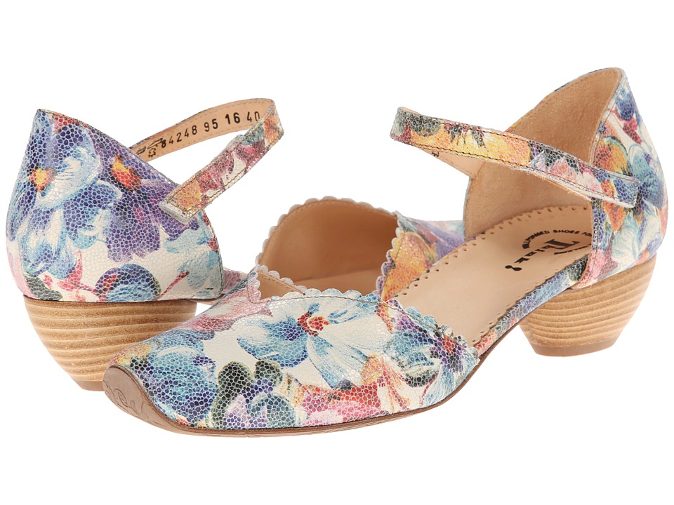 Think! - Aida Damen - 84248 (Bianco/Kombi) Women's 1-2 inch heel Shoes