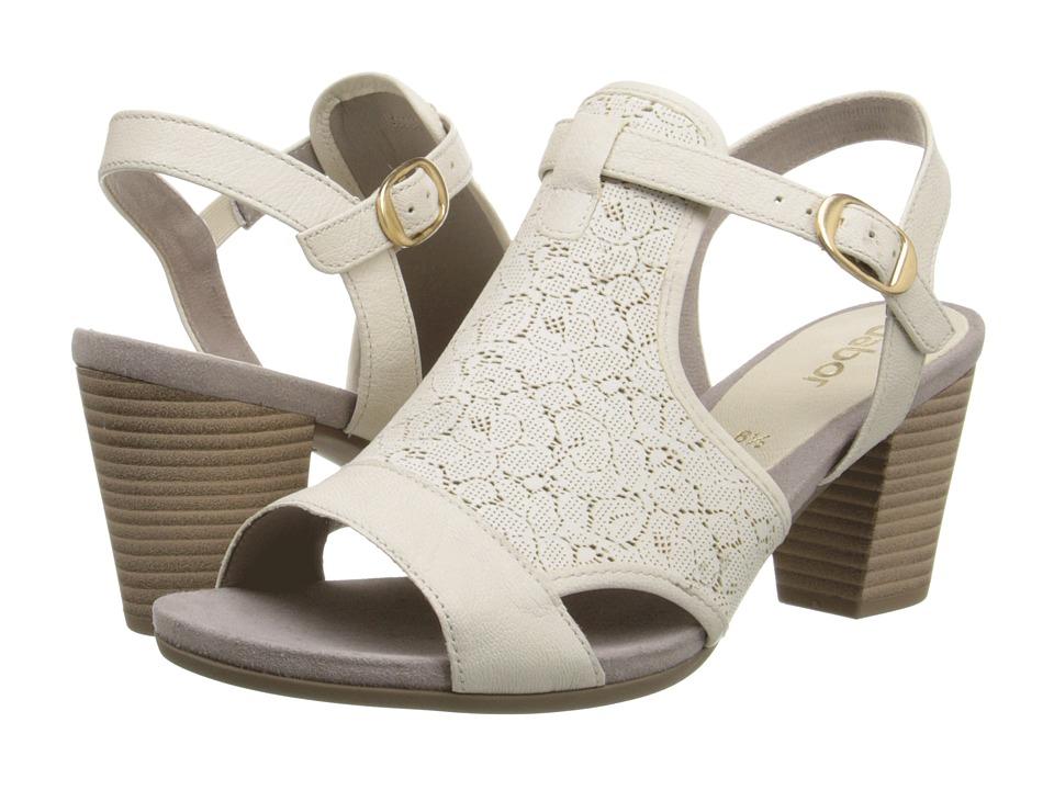 Gabor - Gabor 2.5550 (Milk Soft Sheep/Laser) High Heels