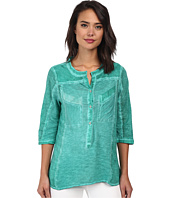 Christin Michaels - Knit Placket Top