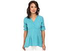 rsvp Tencel Henley Top (Turquoise)