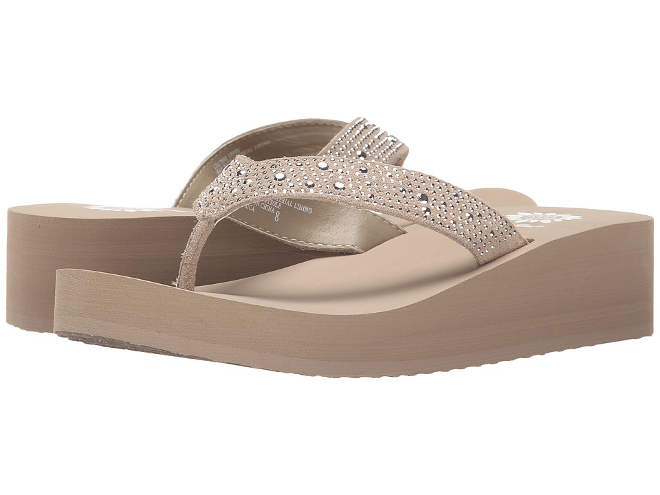 Yellow Box Africa (Taupe) Wedge Shoes