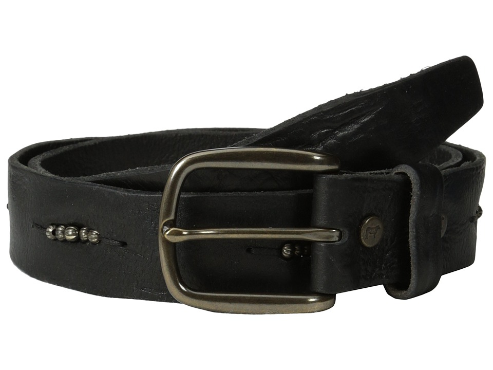 Will Leather Goods Anselm Belt Black Belts