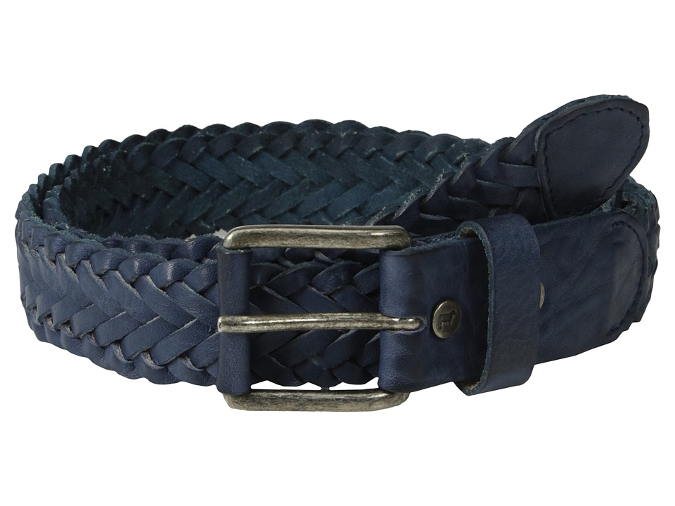 Will Leather Goods Beulah Belt Navy Womens Belts