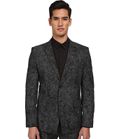 HELMUT LANG - Distorted Effect Canvas 2-Button Blazer