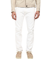HELMUT LANG - Overdye White Wash Skinny Jean