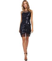 julia jordan - Lace Illusion Hem Dress