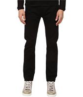 HELMUT LANG - Overdye Black Wash Skinny Jean