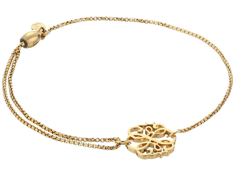 Alex and Ani - Precious II Collection Path Of Life Adjustable Bracelet (Gold Plated Finish) Bracelet
