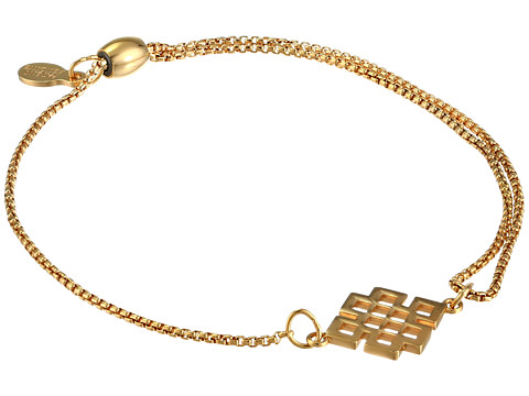 Alex and Ani Precious II Collection Endless Knot Adjustable Bracelet - Gold Plated Finish