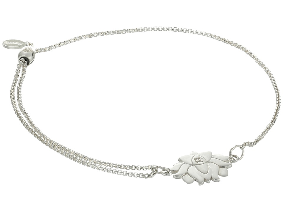 Alex and Ani - Precious II Collection Lotus Peace Petals Adjustable Bracelet (Sterling Silver Finish) Bracelet