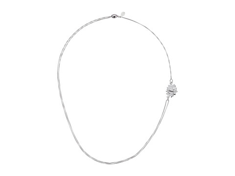 Alex and Ani Precious II Collection Lotus Peace Petals Adjustable Necklace - Sterling Silver Finish