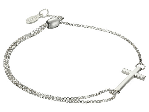 Alex and Ani Precious II Collection Cross Adjustable Bracelet - Sterling Silver Finish