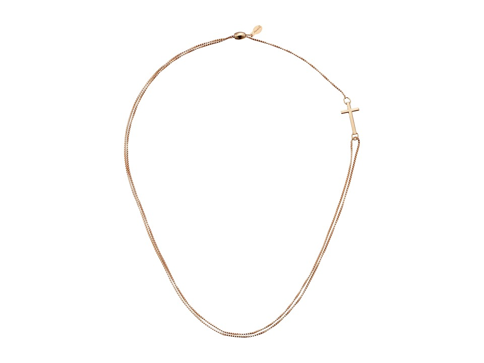 Alex and Ani - Precious II Collection Cross Adjustable Necklace