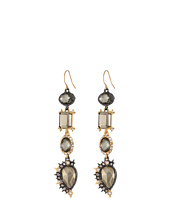 Alexis Bittar - Crystal Studded Spur Trimmed Wire w/ Custom Pyrite Crystal Doublets & Pyrite Earrings
