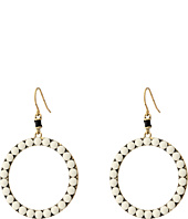 The Sak - Blush Color Dot Hoop Earring